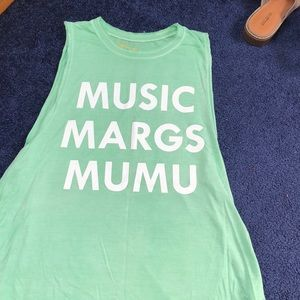 Music margs and mumu top